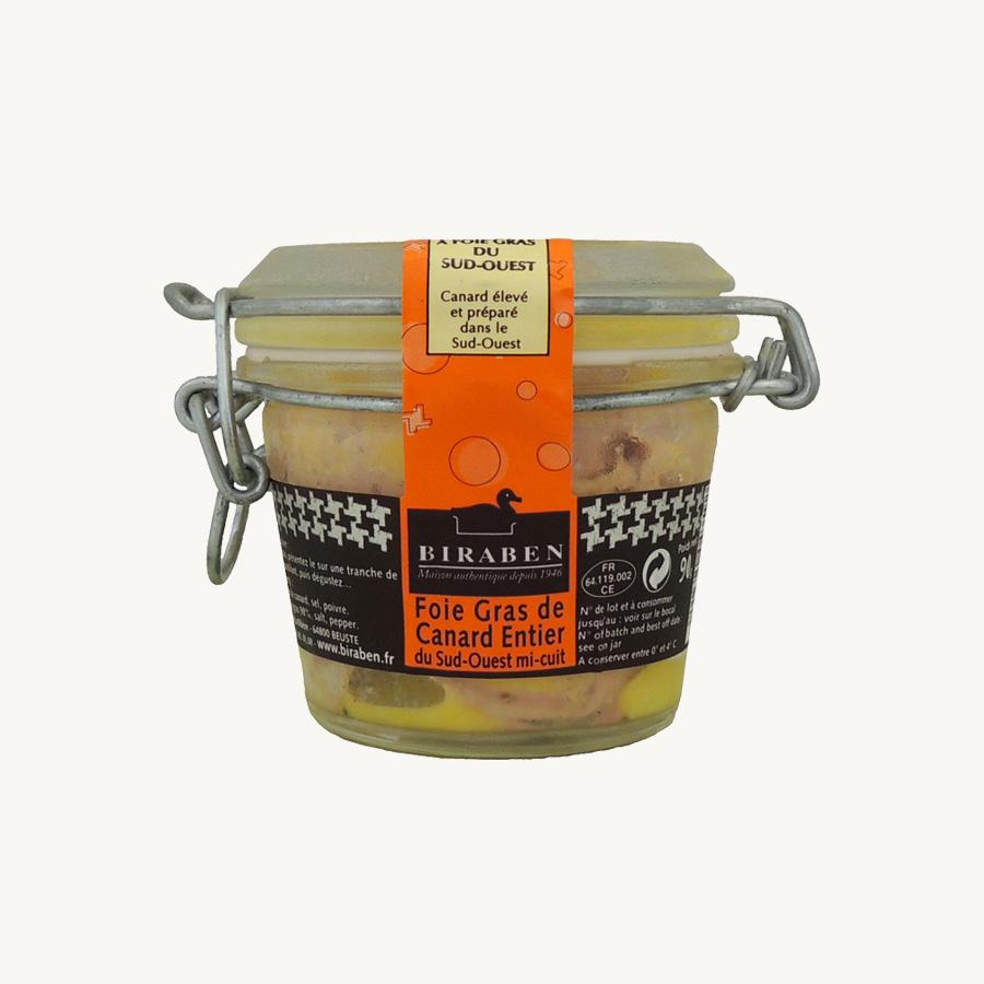 Maison Biraben - Foie gras mi-cuit 90 g