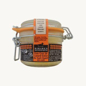 Foie gras de canard entier mi-cuit IGP Sud-Ouest