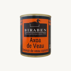 Biraben - Axoa de veau, boite 800g