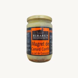 Biraben - Magret de canard confit - 550 g