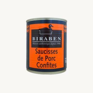 Biraben_saucisses_porc_confites