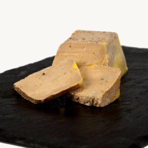 Terrine de foie gras de canard mi-cuit