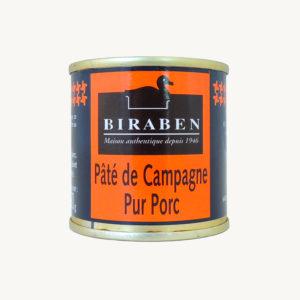 Biraben - Pâté de campagne - 90 g