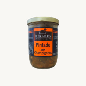 Biraben - Pintade aux champignons - 720 g