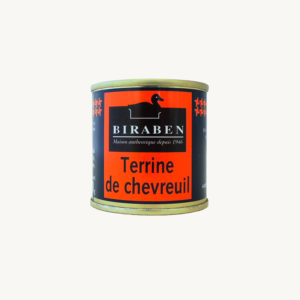 Biraben - Terrine de chevreuil - 90 g