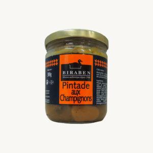 Biraben - Pintade aux champignons - 380 g