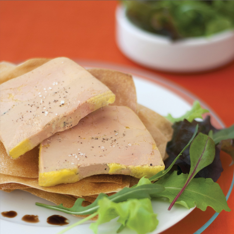 Biraben - Terrine foie gras mi-cuit