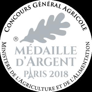 Médaille d'Argent 2018