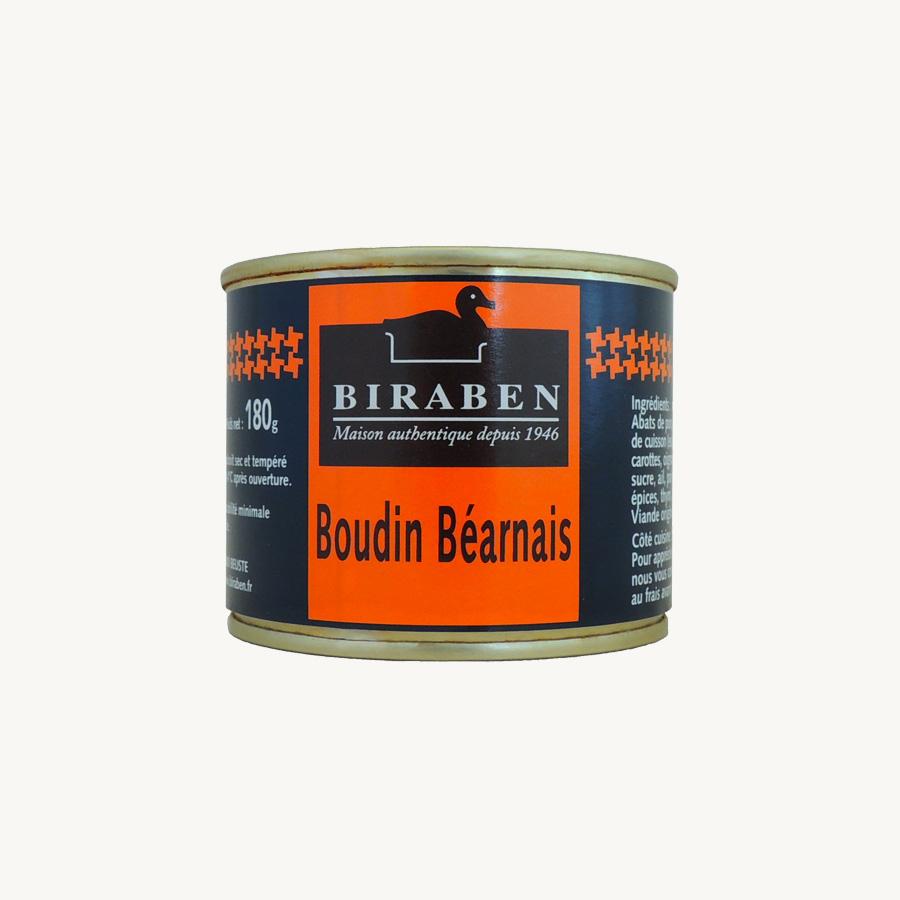 Biraben - Boudin béarnais, boite 180g