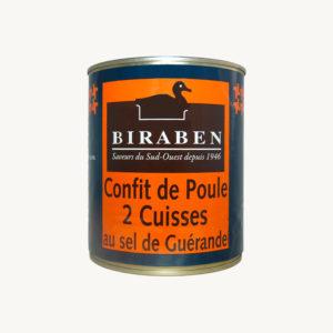 Biraben - 2 cuisses de poules confites