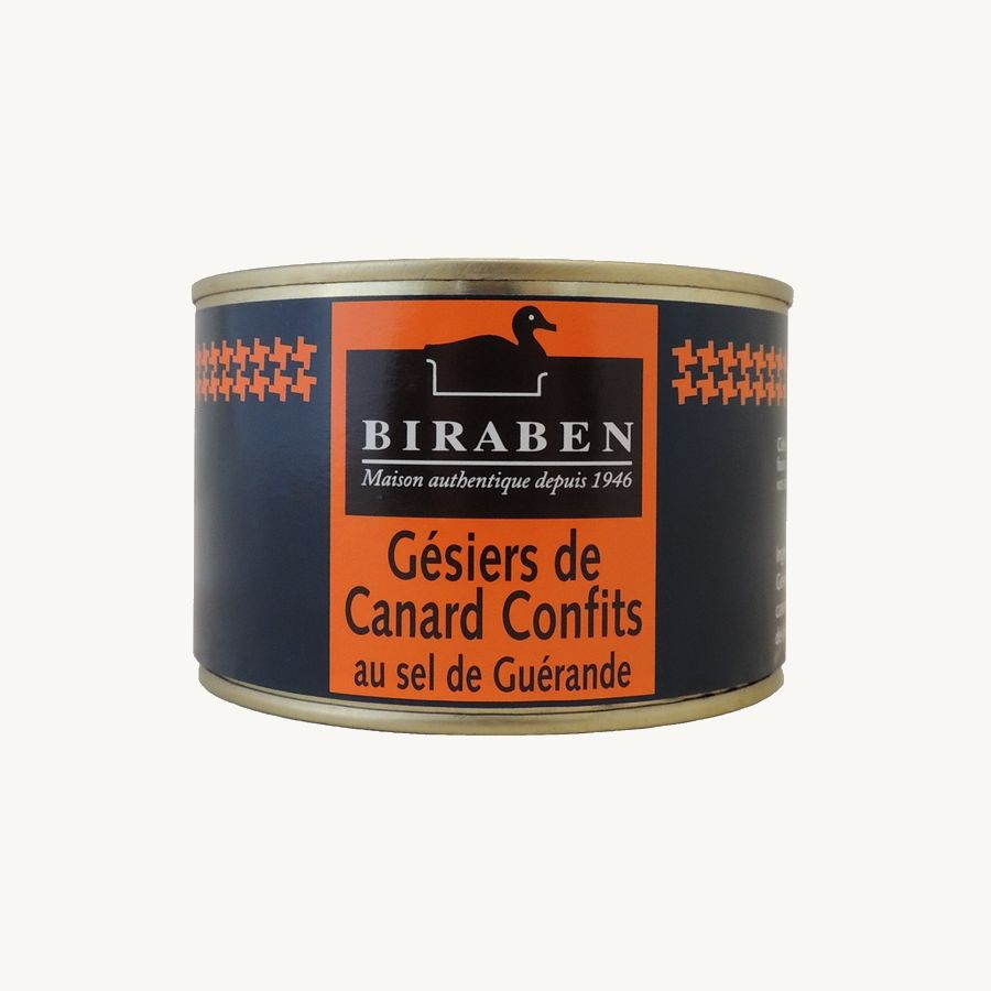 Biraben_gesiers_canard_confits