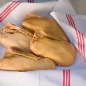 Foie gras de canard cru Extra IGP Sud-Ouest 550grs