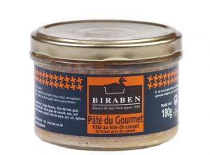 Pâté du Gourmet au Foie de canard, bocal 180grs