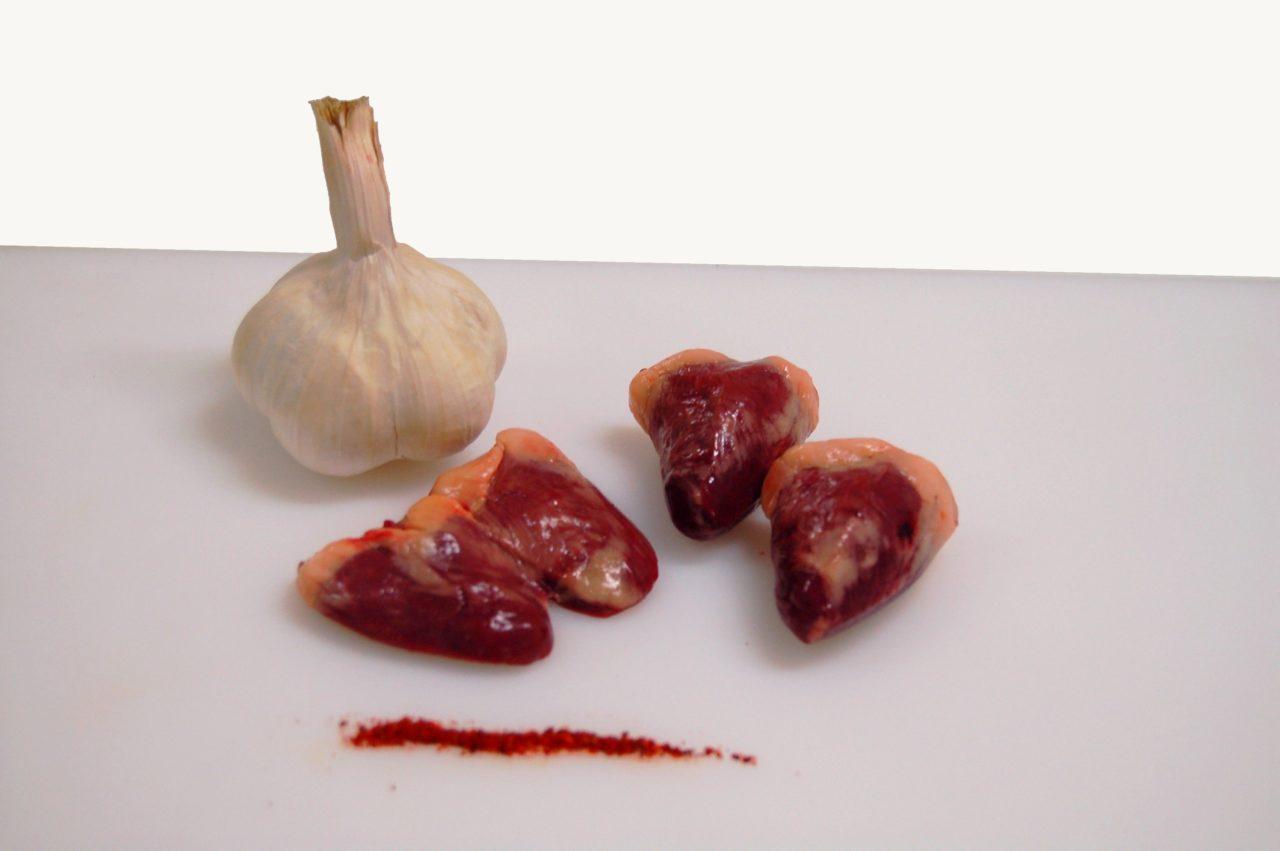Coeurs de canard gras
