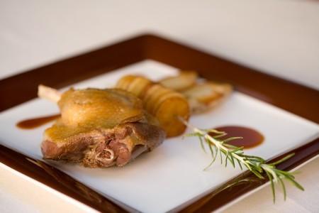 Cuisse de canard confite 180grs