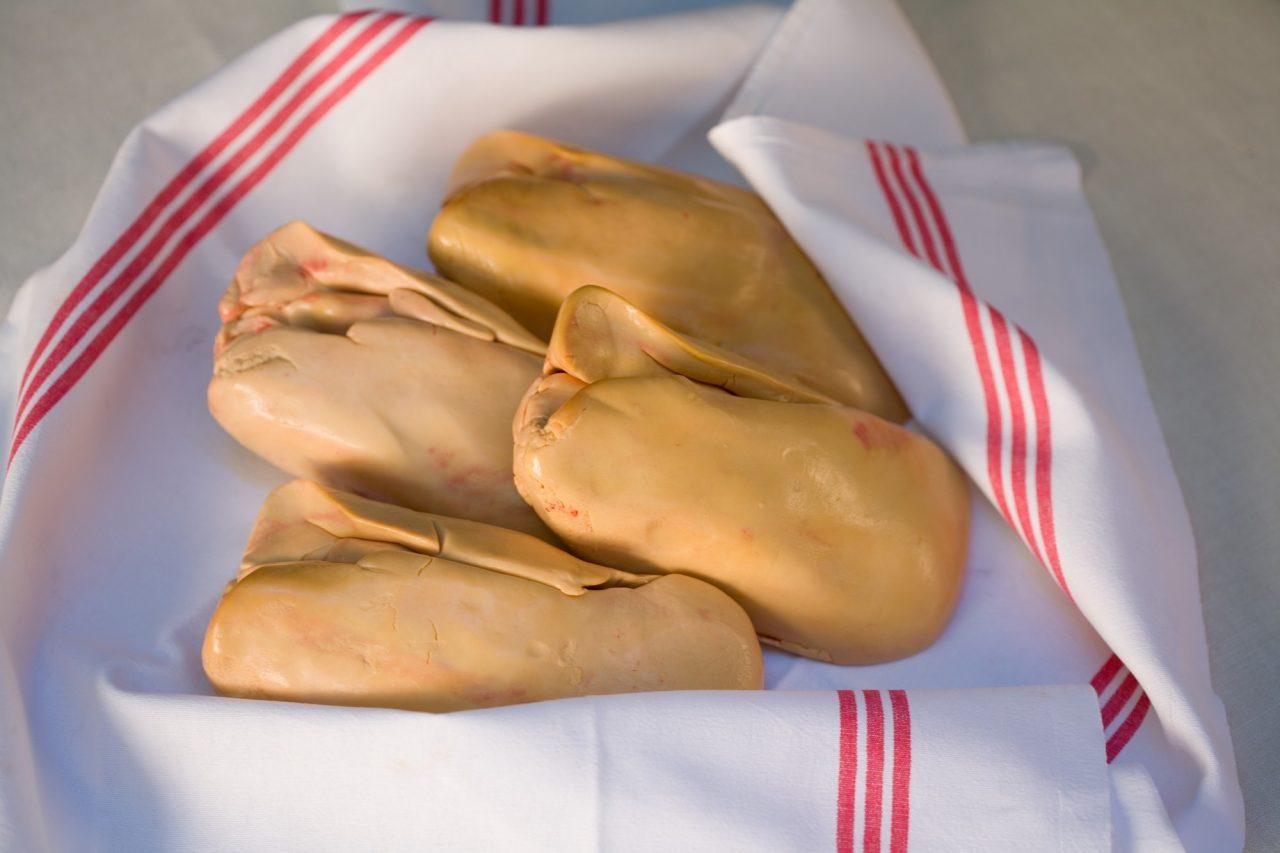 Foie gras de canard cru Extra IGP Sud-Ouest Déveiné-Dénervé 500grs
