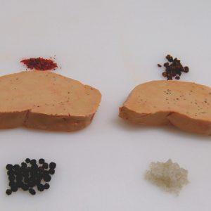 2 Tranches de Foie gras de canard cru Extra IGP Sud-Ouest 110grs