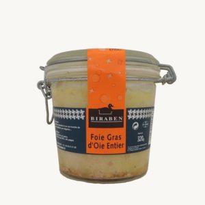 Foie gras d'oie entier bl 320g
