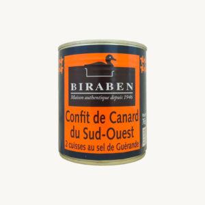 Biraben_confit_canard_2cuisses_765g