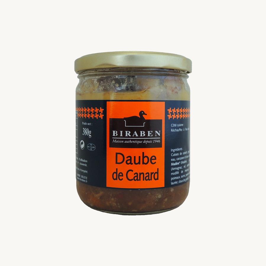 Biraben - Daube de canard - 380 g