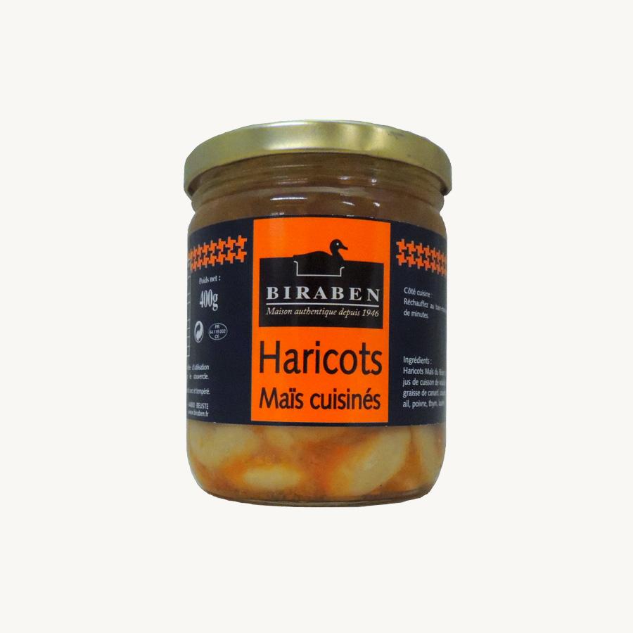 Biraben - Haricots maïs cuisinés - 400 g